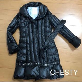 チェスティ(Chesty)の✨ 美品 ✨ 【 CHESTY 】 チェスティ ダウンコート アウター (ダウンコート)