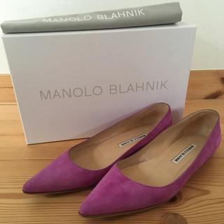 マノロブラニク(MANOLO BLAHNIK)の【最終お値下げ!Drawer別注】MANOLO BLAHNIK パンプス 37(ハイヒール/パンプス)