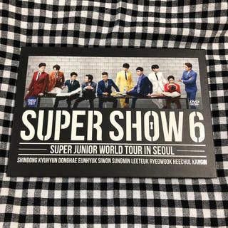 スーパージュニア(SUPER JUNIOR)の SUPER SHOW 6 in Seoul DVD(ミュージック)