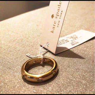 ケイトスペードニューヨーク(kate spade new york)の新品 未使用Kate spadeコールド 指輪 リングnew York(リング(指輪))