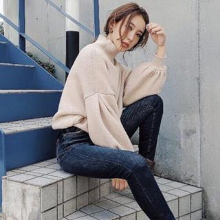 リエンダ(rienda)のrienda♡M/N Tuck Shoulder Knit TOP(ニット/セーター)