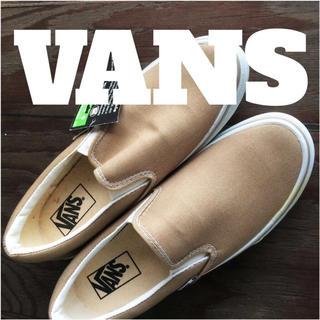 ヴァンズ(VANS)のVANS 6.5  ベージュ未使用品(スニーカー)