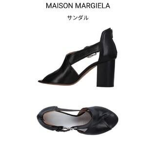 マルタンマルジェラ(Maison Martin Margiela)の新品 メゾンマルジェラ レザー パンプス 41 MM6 マルタンマルジェラ(ハイヒール/パンプス)