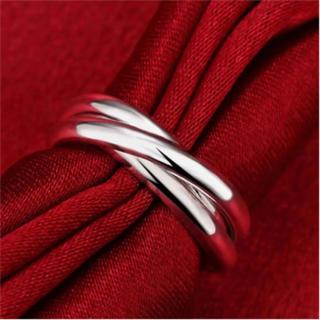 インポート 3連リング シルバー トリプル リング 指輪(リング(指輪))