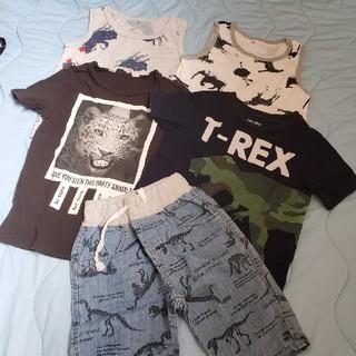 ギャップ(GAP)の動物 恐竜 子供服 まとめ売り☆*°新品未使用 GAP 入り(Tシャツ/カットソー)