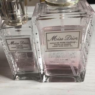 ディオール(Dior)のミスディオール  ブルーミングブーケ  ヘアミスト ボディオイル(ヘアウォーター/ヘアミスト)