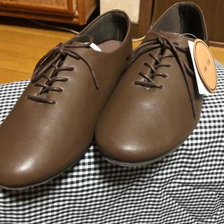 サマンサモスモス(SM2)の新品サマンサモスモス紐バブーシュ(ローファー/革靴)