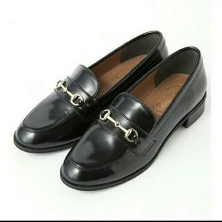 ダブルクローゼット(w closet)のw closet コインローファー 未使用(ローファー/革靴)
