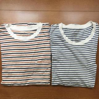 ムジルシリョウヒン(MUJI (無印良品))の無印良品/Tシャツ 2枚セット(Tシャツ/カットソー(半袖/袖なし))