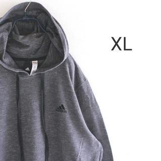 アディダス(adidas)のUS アディダス コットン プルオーバー パーカー XL(パーカー)