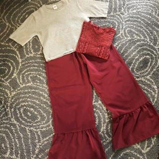 ミスティック(mystic)のOmekashi とmysticのトップ、パンツ(Tシャツ(半袖/袖なし))