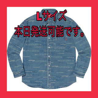 シュプリーム(Supreme)のSupreme Dimensions Logo Denim Shirt(シャツ)