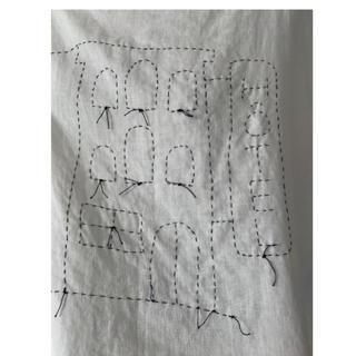 ミナペルホネン(mina perhonen)のTOWAVASE  ブラウス(シャツ/ブラウス(長袖/七分))