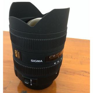 SIGMA - SIGMA 8-16mm f4.5~f5.6 Kマウントレンズ