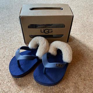 アグ(UGG)の新品 UGG アグ ベビーサンダル 12.5cm 12ー18か月(サンダル)