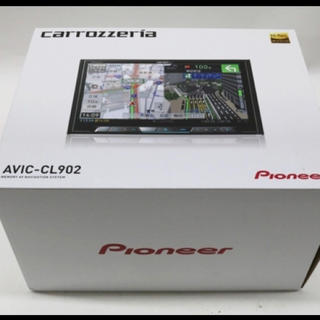 パイオニア(Pioneer)の【新品】   AVIC-CL902 サイバーナビ 8型 ワイド パイオニア (カーナビ/カーテレビ)