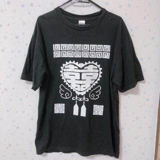 せななん 2.X次元 Tシャツ ブラック(Tシャツ(半袖/袖なし))