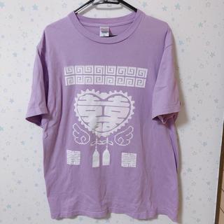 せななん 2.X次元Tシャツ コットンキャンディー  パープル(Tシャツ(半袖/袖なし))