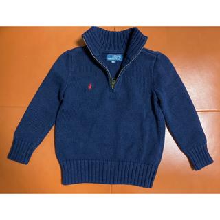 ポロラルフローレン(POLO RALPH LAUREN)のRalph Laurenハイネック ハーフジップ セーター~110サイズ(ニット)