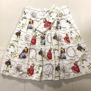 ジェーンマープル(JaneMarple)のオールドディッシュ ドレススカート  (ひざ丈スカート)