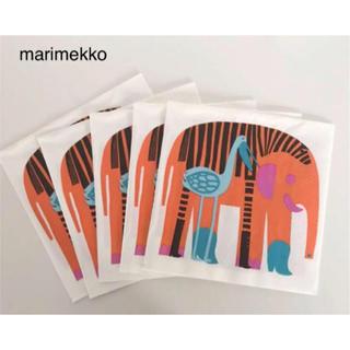 marimekko - マリメッコ  ペーパーナプキン 5枚  ぞう