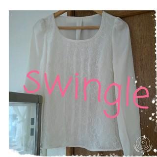Swingle - ブラウス トップス swingle スウィングル