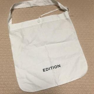 エディション(Edition)のエディション Edition ショッパー(ショップ袋)