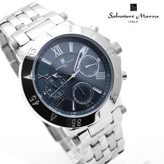 Salvatore Marra - サルバトーレマーラ 腕時計 メンズ ネイビー デイデイト ブランド