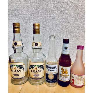 お酒 空き瓶 インテリア(日本酒)