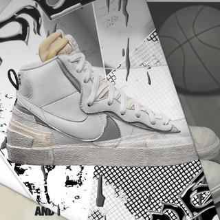 ナイキ(NIKE)の27cm Nike Sacai Blazer Mid ナイキ サカイ ブレザー (スニーカー)