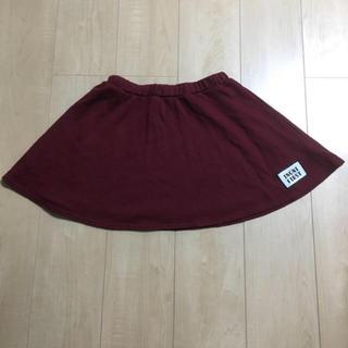 イングファースト(INGNI First)のINGNI  first スカート 150(XL) ボルドー(スカート)