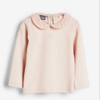 NEXT - 襟付き ブラウス カットソー Tシャツ ピンク 長袖 新品