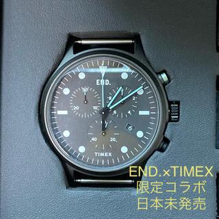 タイメックス(TIMEX)の【日本未発売限定品 】英国エンド×タイメックス コラボ 腕時計 ミント(腕時計(アナログ))