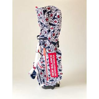 ニューバランス(New Balance)の2019ニューバランス ゴルフ キャディバッグ マルチパターンプリントスタンド型(バッグ)