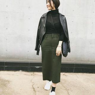 ドゥーズィエムクラス(DEUXIEME CLASSE)の YLEVE イレーヴ GLENCHECK TWEED スカート(ひざ丈スカート)