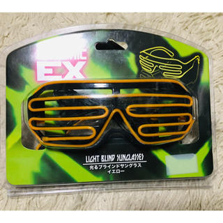光るブラインド サングラス エレクトリックEX(小道具)