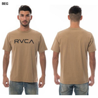 ルーカ(RVCA)のrvca tシャツ ベージュ Mサイズ (Tシャツ/カットソー(半袖/袖なし))