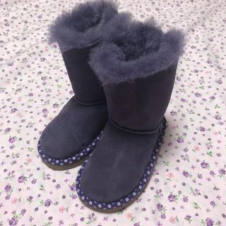 アグ(UGG)の美品 ugg アグ ムートンブーツ 14.5cm(ブーツ)