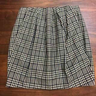 マカフィー(MACPHEE)のマカフィー チェック台形スカート【秋冬】(ミニスカート)