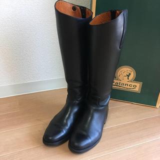Palanco - 【Palanco / パランコ】乗馬ブーツ ロングブーツ 黒