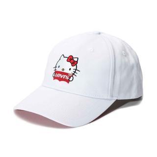 リーバイス(Levi's)の★新品★ リーバイス×キティ 帽子 キャップ 定価4400円(キャップ)