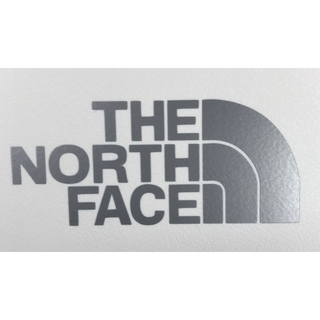 THE NORTH FACE - THE NORTH FACE ステッカー(カッティング•シルバー)