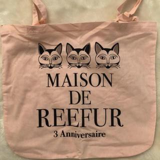 メゾンドリーファー(Maison de Reefur)の新品 メゾンドリーファー  3周年限定 ネコ ショッパー(エコバッグ)