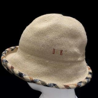 ダックス(DAKS)のDAKS ダックス レディース 帽子 ハット チェック ニット ぼうし 日本製 (ハット)