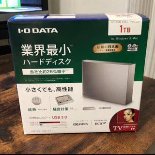 アイオーデータ(IODATA)のIODATE 外付けハードディスク(DVDレコーダー)