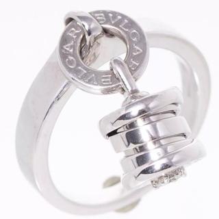 ブルガリ(BVLGARI)のブルガリ ビーゼロワン エレメントリング K18WG×1Pダイヤ #51(リング(指輪))
