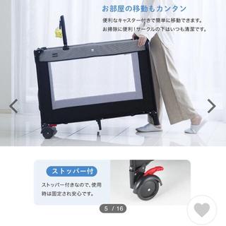 カトージ(KATOJI)のここみ様専用 おまけオムツ替えテーブル(ベビーベッド)