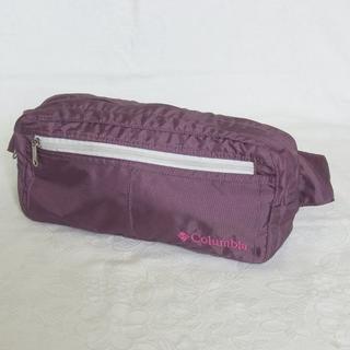 Columbia - Columbia コロンビア ウエストバッグ ヒップバッグ ポーチ 鞄 パープル