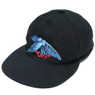 オフホワイト(OFF-WHITE)の18SS OFF-WHITE EAGLE CAP イーグル 刺繍 キャップ (キャップ)