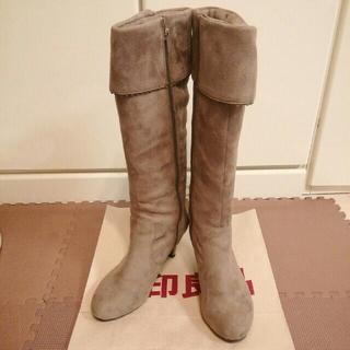 バニティービューティー(vanitybeauty)のvanity beauty  ブーツ Lサイズ スエード(ブーツ)
